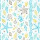 Dotted Sea Life Pattern! by 4ogo Design