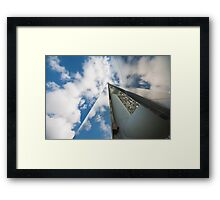 Behind The Sky Framed Print