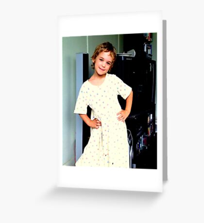Hands on Hips Greeting Card