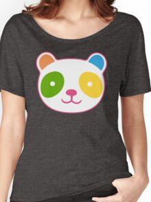 Rainbow Panda Women's Relaxed Fit T-Shirt