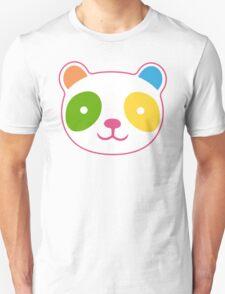 Rainbow Panda Unisex T-Shirt