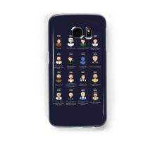 The Faces of Robin Williams Samsung Galaxy Case/Skin