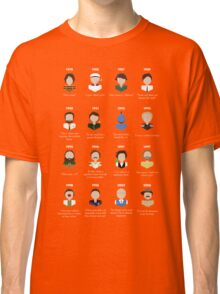 The Faces of Robin Williams Classic T-Shirt