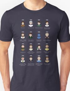 The Faces of Robin Williams T-Shirt