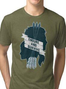 Endure and Survive Tri-blend T-Shirt