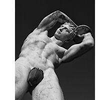 Discus thrower Photographic Print