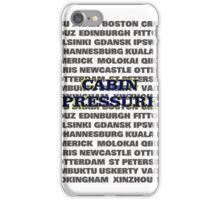 Cabin Pressure iPhone Case/Skin