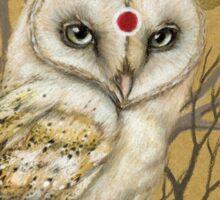Miss Owl Sticker