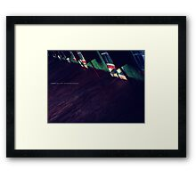 NOWHERE MOTEL II Framed Print