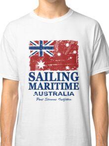 Australia Maritime Flag - Down Under Classic T-Shirt