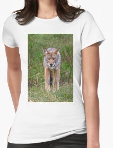 Coyote Womens Fitted T-Shirt
