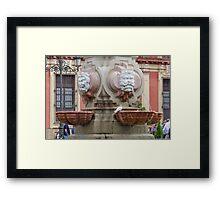 Plaza de Los Reyes Framed Print