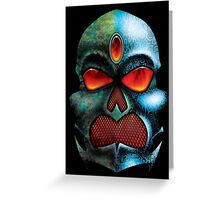 Chrome and Corrosion Greeting Card