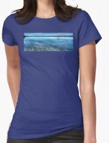 Kayaking on Sturgeon Bay Womens Fitted T-Shirt