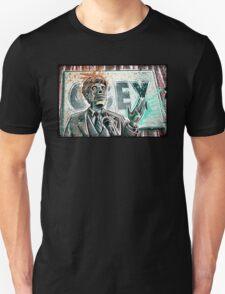 They Live, art, print, john carpenter, 80's, 90's, movie, film, action, sci fi, horror, rowdy, roddy piper, alien, green, face, politician, obey, joe badon T-Shirt
