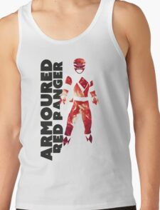 MMPR Armoured Red Print Tank Top
