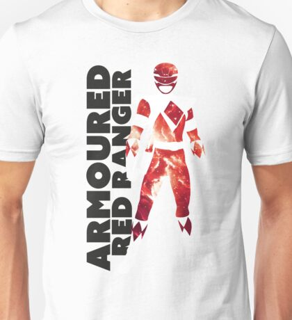 MMPR Armoured Red Print Unisex T-Shirt
