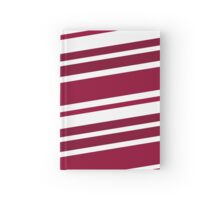 Crimson and White Hardcover Journal