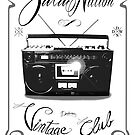 Zulu nation - Ghettoblaster - Vintage club by dadawan