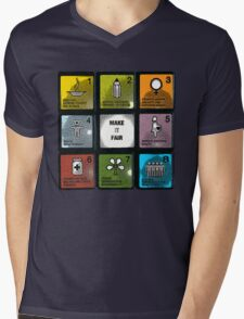 millennium development goals Mens V-Neck T-Shirt
