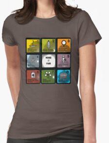 millennium development goals Womens Fitted T-Shirt