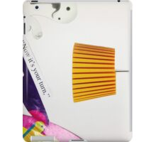 Now It's Your Turn iPad Case/Skin