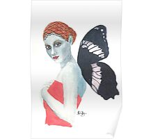 Modesty the Butterfly Lady Poster