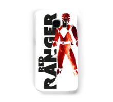 MMPR Red Ranger Print Samsung Galaxy Case/Skin