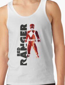 MMPR Red Ranger Print Tank Top