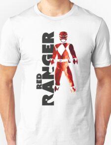MMPR Red Ranger Print T-Shirt