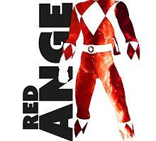 MMPR Red Ranger Print by GekiDesign