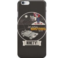 Marty McFly's RC Time Machine iPhone Case/Skin
