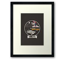 Marty McFly's RC Time Machine Framed Print