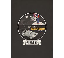 Marty McFly's RC Time Machine Photographic Print