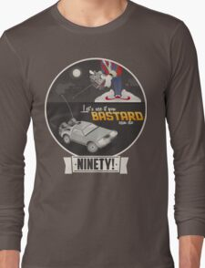 Marty McFly's RC Time Machine Long Sleeve T-Shirt