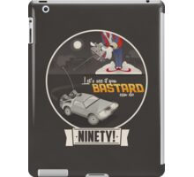 Marty McFly's RC Time Machine iPad Case/Skin