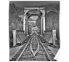 Payette Rail Road Bridge Poster