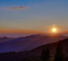 Blue Ridge Sunset by njordphoto