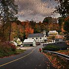 New England Town by Barbara Manis