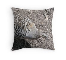 Mallee Fowl Throw Pillow