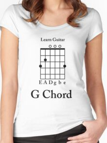 Learn guitar Women's Fitted Scoop T-Shirt