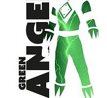 MMPR Green Ranger Print by GekiDesign