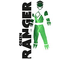 MMPR Green Ranger Print Photographic Print