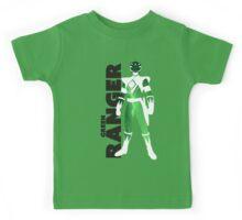 MMPR Green Ranger Print Kids Tee