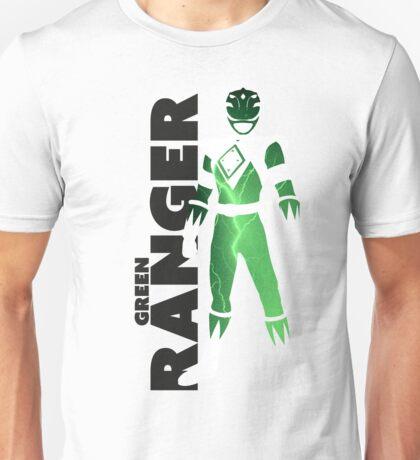 MMPR Green Ranger Print Unisex T-Shirt
