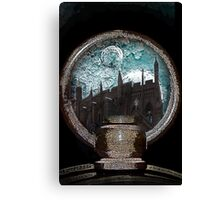 City on the edge of forever Canvas Print