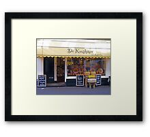 Cheese Shop - not Monty Python Framed Print