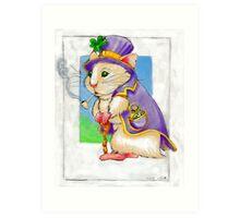 Lucky Hamster  Art Print