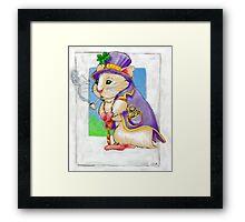 Lucky Hamster  Framed Print