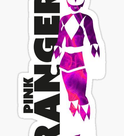 MMPR Pink Ranger Print Sticker